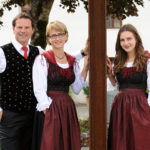 Familie in Tracht